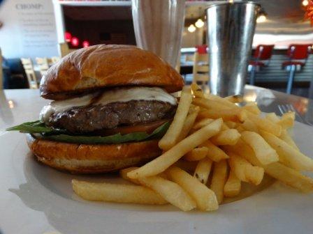 The Caprese Burger
