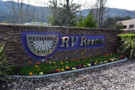 RV Resort sign