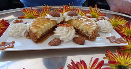 Primary dessert dish.