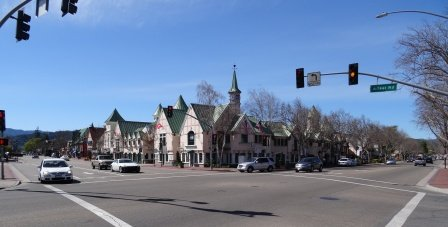 Solvang downtown