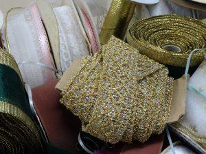 Gold tiara trim