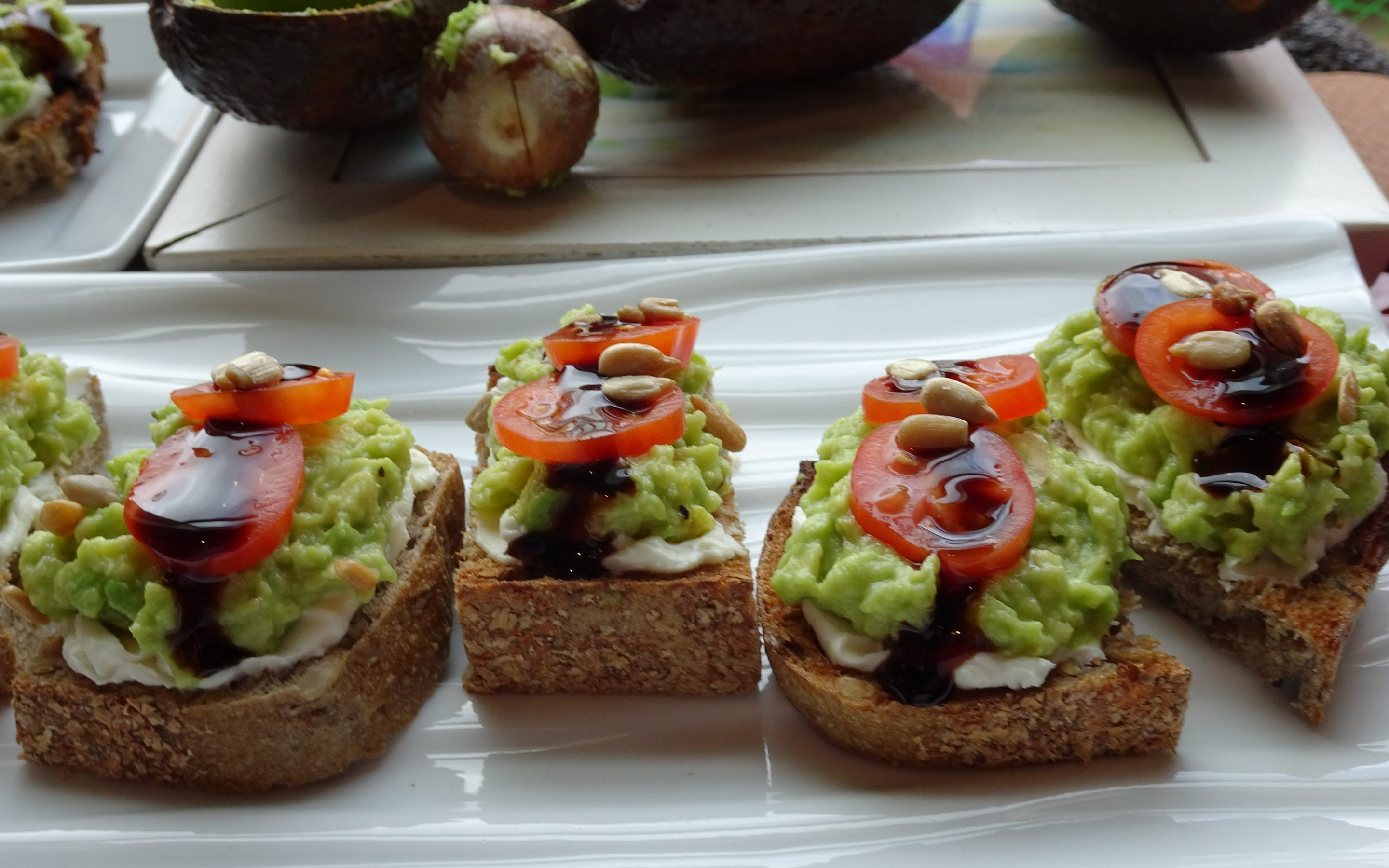 Amuse-Bouche Avocado Toast