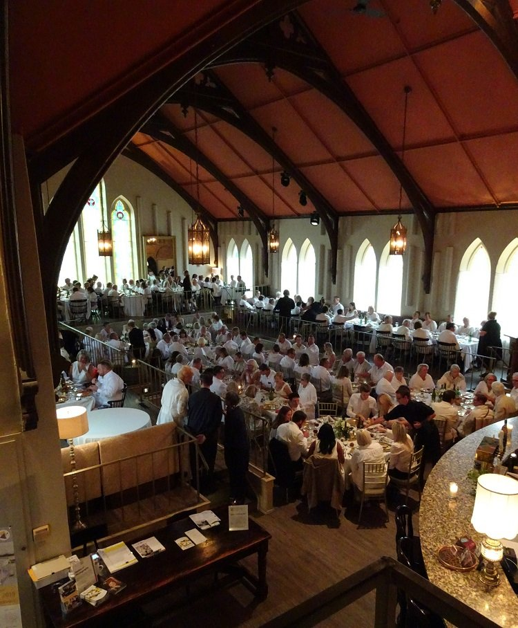 Stratford Chefs School's Long Table Dinner 2019