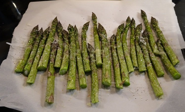 Asparagus in the Oven or on the Grill