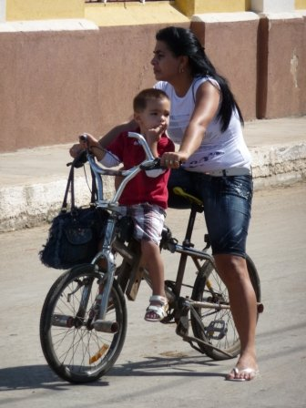 Sharing the street in Cardenas