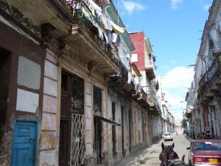 Deteriorating buildings