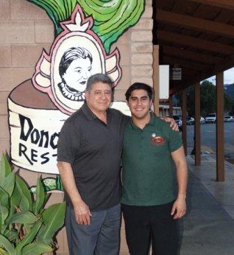 Al Castaneda and his grandson