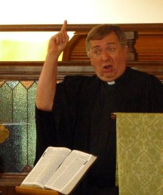 F Reverend Spracklin