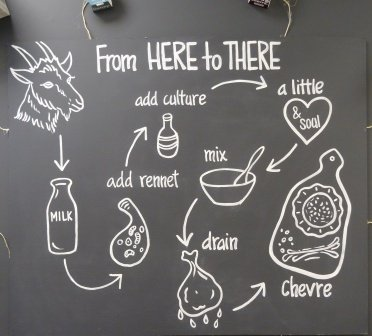From goat to cheese