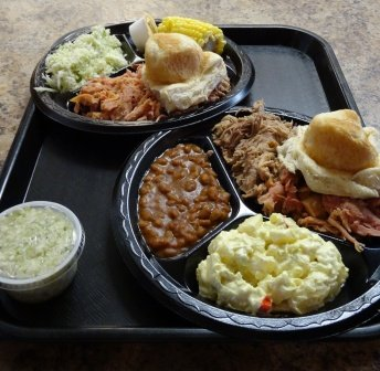 Lawler's Barbecue 2 plates DS
