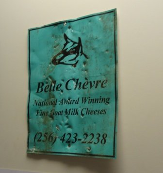 Original Belle Chevre sign