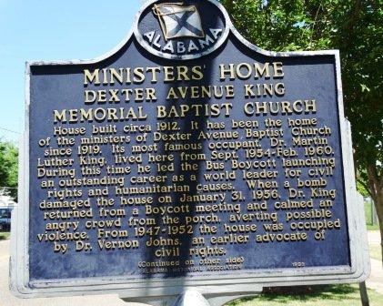 Parsonage Dexter Avenue King Memorial Baptist Church