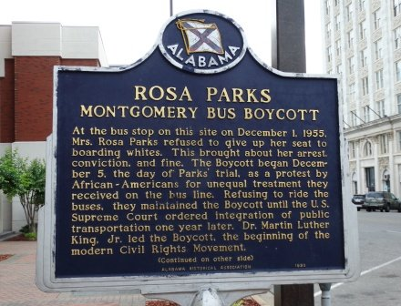 Rosa Parks Refused Her Seat
