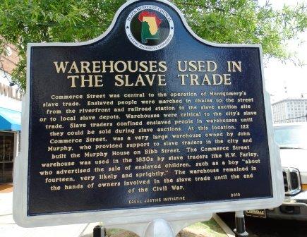 Slave Trade Commerce Street