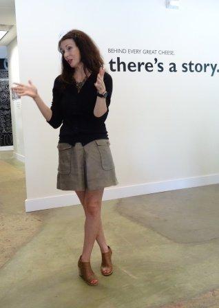 Tasia telling her story