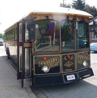 The Rum Runner Tour Trolley
