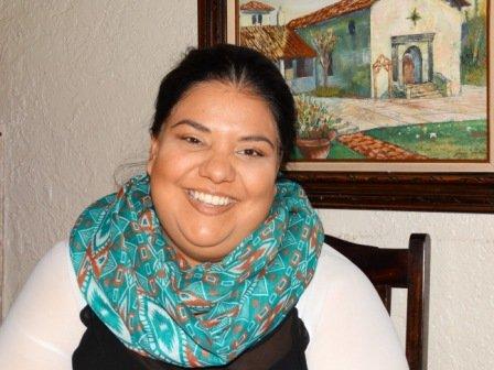 Francesca at La Fonda
