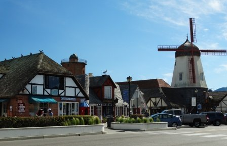 One of seven windmills in Solvang